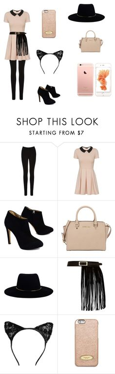 """""""Untitled #7"""" by poppyh999 ❤ liked on Polyvore featuring Oasis, Giuseppe Zanotti, MICHAEL Michael Kors, Zimmermann and River Island"""