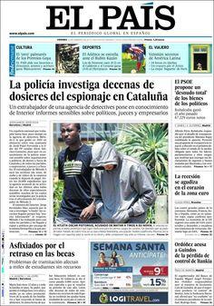 PORTADAS DEL 15 DE FEBRERO 2013