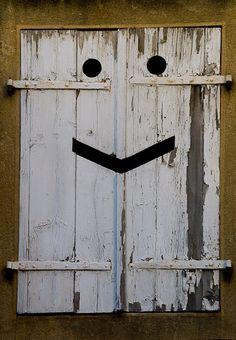 Smiley Window, Thun in Switzerland.