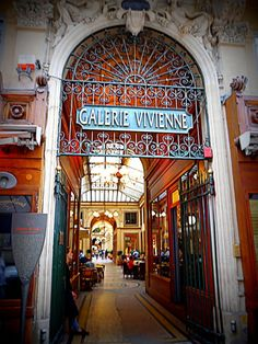 Galerie Vivienne Paris hidden gem