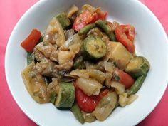 Fricassea di verdure miste da consumare fredda in estate