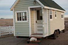 Johnny Spires Luxurious Tiny House on Wheels by flossie