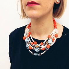 Collana €129,60 #manlioboutique Info: WhatsApp 329.0010906 #fashion #necklaces #style #accessories