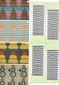 """Photo from album """"Pattern Library"""" on Yandex. Pattern Library, Knitting Charts, Views Album, Kids Rugs, Color, Patterns, Piercing, Cards, Tejidos"""