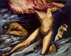 Prometheus--Jose Clemente Orozco (Mexico)