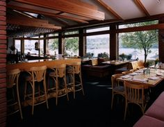 Dock Cafe, Stillwater, Minnesota.  Great river views and house made crab cakes.