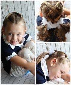 I've partnered with Target to inspire moms (and kids) to get excited about back-to-school. A new school year may be intense, but it's the little details and personal touches that make it awesome! Today we're sharing 10 easy hairstyles for little girls that won't add any extra prep time to your already crazy mornings!  One of the things I love