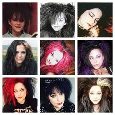 Big Goth Hair 1986-2017