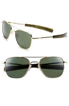 b36880bdd19 Randolph Engineering Randolph Engineering 'Aviator' 55mm Polarized  Sunglasses available at #Nordstrom Randolph Sunglasses