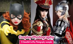 25 Beautiful CosPlay Photography examples - Creative Props and Costumes. Read full article: http://webneel.com/webneel/blog/25-beautiful-cosplay-photographs-creative-props-and-costumes | more http://webneel.com/photography | Follow us www.pinterest.com/webneel