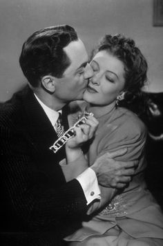William Powell and Myrna Loy in Shadow of the Thin Man