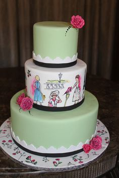 Parisian Wedding by Alliance Bakery, via Flickr
