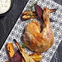 1 kylling, 3 måltider   SØNDAG