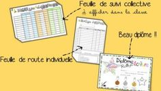 Rallye écriture cycle 3 -  outils d'organisation