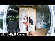 Van Conversion With Shower, Van Conversion Plans, Van Conversion Interior, Van Conversion Toilet, Cargo Trailer Camper Conversion, Camper Van Conversion Diy, Toilet Shower Combo, Camper Van Shower, Ducato Camper