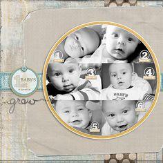 Digital Scrapbook Layouts by Nicole LeBlanc: Granding Opening of pxlcafe.com