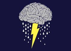 Raios de pensamentos e chuva de ideias. O brainstorming (tempestade de ideias) é uma atividade desenvolvida para explorar a potencialidade criativa de um indivíduo ou de um grupo: http://www.oconhecimento.com.br/raios-de-pensamentos-e-chuva-de-ideias#