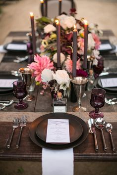 Bliss & Bone: Moody & Rustic Tablescape