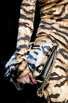 leopard love from Dolce and Gabbana Fall/Winter 2012