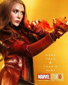 Marvel Studios More Than A Hero Poster Series Scarlet Witch Heros Comics, Bd Comics, Marvel Dc Comics, Marvel Heroes, Captain Marvel, The Avengers, Avengers Poster, Disney Marvel, Marvel Universe