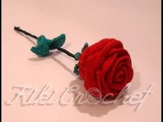 : How To Crochet A Rose: Easy Crochet lessons to crochet flowers part 1:1