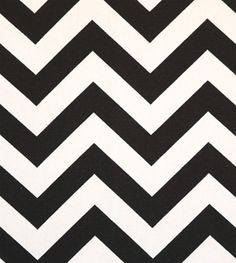 Zig Zag Black / White | Online Discount Drapery Fabrics and Upholstery Fabric Superstore!