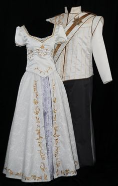 Natalie, I've found your wedding dress! If you don't recognize it, I'm disappointed! LOL    Adult Rapunzel Wedding Costume Custom Made by NeverbugCreations, $800.00