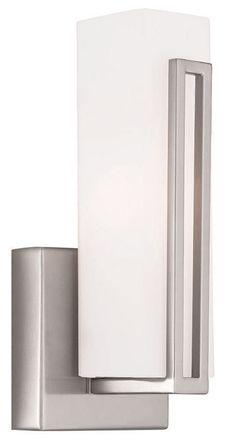 $119 / 1 7 watt LED lamp.  View the Livex Lighting 16391 Eclipse 1 Light ADA Compliant LED Wall Sconce at LightingDirect.com.
