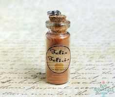 Harry Potter Inspired Charms  Felix Felicis by BonAppetEats, $8.00