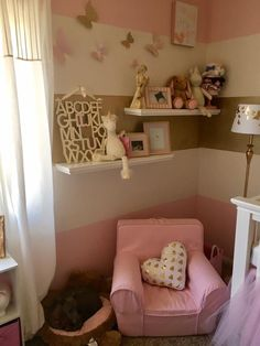 Pink &Gold baby girl nursery