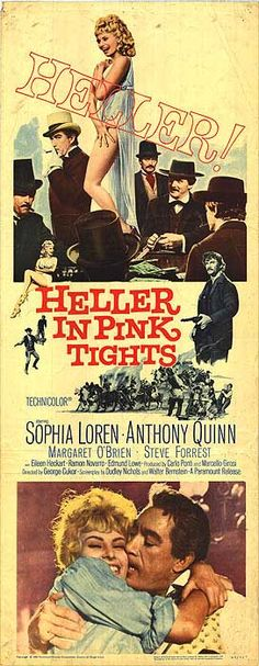 Hell to Eternity Film | AKA: heller in pink tights Heller in Pink Tights movie posters at ...