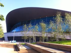 London Aquatics Centre - awesome memories and amazing architecture