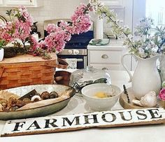 FARMHOUSE Sign Architectural Salvage Barn Wood by HoggBarnAntiques