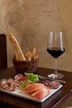 Il Santino - Florence, Italy - great wine and cheese bar (5 minute walk from hotel)