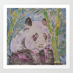 My Panda bear that was created for a charityis coming with a smile to your home.