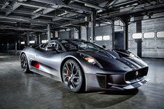 Jaguar C-X75 Hybrid Supercar Prototype