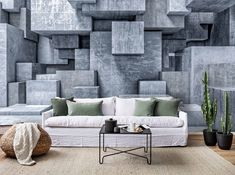 Self Adhesive Wallpaper, 3d Wallpaper, Traditional Wallpaper, White Stone, Textured Walls, Wall Murals, Black And White, Living Room, Furniture