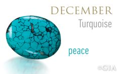 """Turquoise - the """"peace"""" birthstone. GIA (121613)"""