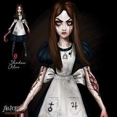 Alice Liddell, Alice Madness Returns, Flesh And Blood, Urban Legends, Asylum, Cool Drawings, Alice In Wonderland, Cool Art, American