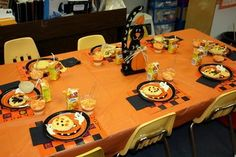 Preschool Halloween Party; use ideas for Thanksgiving feast...