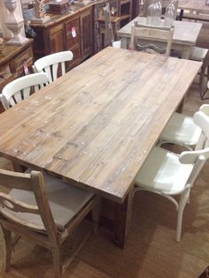 Speakeasy Reclaimed Fir Dining Table