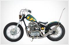 "Desert Motorcycle Company's '81 Yamaha XS650 - ""GoldenSpike"" - Pipeburn - Purveyors of Classic Motorcycles, Cafe Racers & Custom motorbikes"