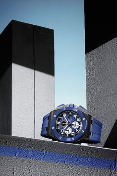 A powerful watch inside and out. Not only can the new Royal Oak Offshore Selfwinding Chronograph's movement run autonomously for at least 50 hours, but its black ceramic case is tough enough to take on any challenge. Ref. 26405CE.OO.A030CA.01 Audemars Piguet Watches, Audemars Piguet Royal Oak, Rolex, Royal Oak Offshore, Bracelets, At Least, Challenge, Accessories, Leather