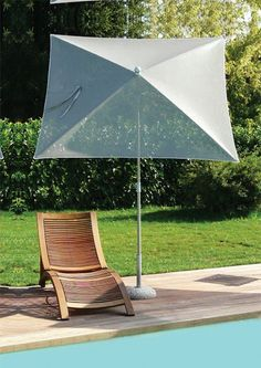 Parasol POOL Batyline 180x180/4 cm au meilleur prix ! - LeKingStore