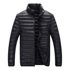 Classic Puffer Jacket Black