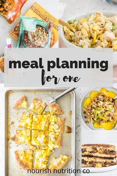 Check out the best meal planning tips for one person. You'll find recommendations to create a cheap weekly meal plan for a single person on a budget. These tips will help you save time and energy planning meals, it'll keep you from wasting food, and it'll show you how to actually plan for one, because it's really different than meal planning for a family. #mealplanning #mealplanningforone Supper Recipes, Best Dinner Recipes, Good Healthy Recipes, Healthy Weeknight Meals, Make Ahead Meals, Easy Meals, Cooking On A Budget, Cooking Tips, Dinner For One