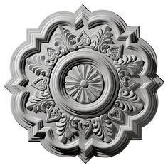 Ekena Millwork 20-1/4 in. O.D. Deria Ceiling Medallion