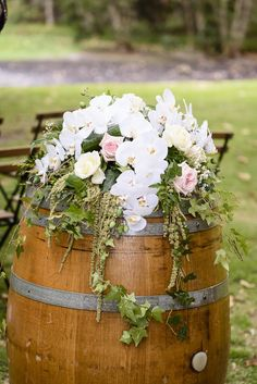 Image result for barrelswith flowerson themound reception hire genuine wine barrels and barrel bars in perth free delivery and collection check junglespirit Choice Image