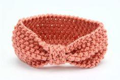 Girl Knit Crochet Turban Headband