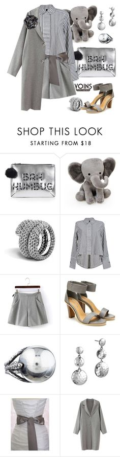 """""""Graphic greys with yoins"""" by pensivepeacock ❤ liked on Polyvore featuring Topshop, Lambs and Ivy, John Hardy, Bottega Veneta, Chanel, MustHave and winter2015"""